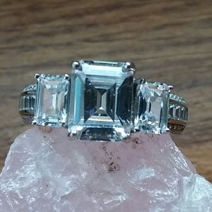 Cubic zerconias ring size 10